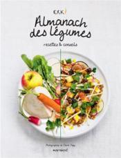 Almanach des légumes de saison Exki - Couverture - Format classique