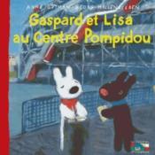 Gaspard et Lisa au centre Pompidou - Couverture - Format classique