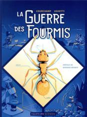 La guerre des fourmis - Couverture - Format classique