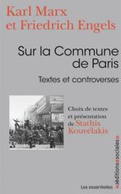 Sur la commune de Paris ; textes et controverses - Couverture - Format classique