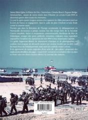 Les plages du débarquement - 4ème de couverture - Format classique
