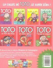 Toto, t'es pas un cadeau ! - 4ème de couverture - Format classique