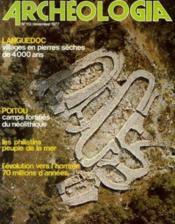 Archeologia n°112 novembre 1977 - Couverture - Format classique