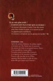 La septième fille du diable t.3 ; le retour - 4ème de couverture - Format classique