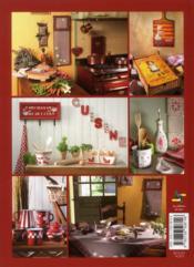 Pour la cuisine ; peindre sur : bois, métal, porcelaine, lin... - 4ème de couverture - Format classique