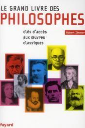 Le grand livre des philosophes - Couverture - Format classique