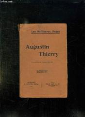 Augustin Thierry. - Couverture - Format classique