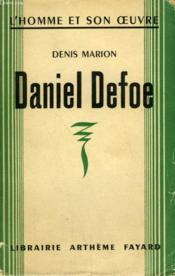 Daniel Defoe. - Couverture - Format classique