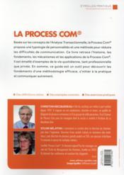 La process com - 4ème de couverture - Format classique