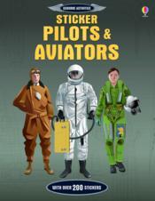 Pilots and aviators ; stickers - Couverture - Format classique