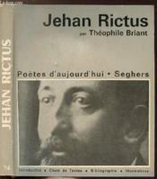 Jehan Rictus - Collection Poetes D'Aujourd'Hui N°74 - Couverture - Format classique