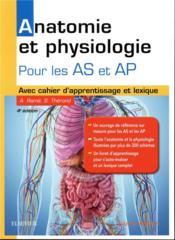 Anatomie et physiologie ; aide-soignant et auxiliaire de puériculture - Couverture - Format classique