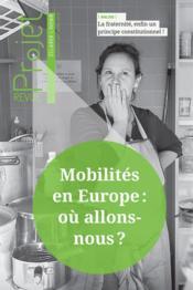 Revue projet N.369 ; mobilités en Europe : où allons-nous ? - Couverture - Format classique