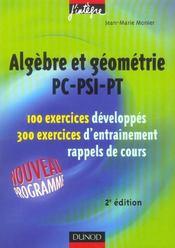 PC-PSI-PT ; exercices (2e édition) - Intérieur - Format classique