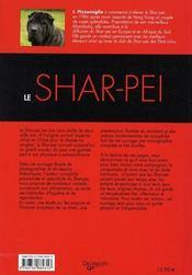 Shar Pei (Le) - 4ème de couverture - Format classique