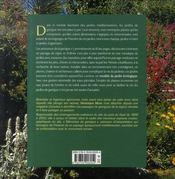 Jardins de garrigue - 4ème de couverture - Format classique