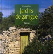 Jardins de garrigue - Couverture - Format classique