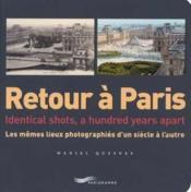 Retour a paris - Couverture - Format classique