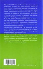 Les tsiganes, ou, le destin sauvage des roms de l'est - 4ème de couverture - Format classique