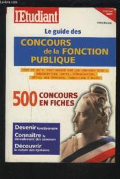 Le guide des concours de la fonction publique (édition 2003) - Couverture - Format classique