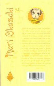Bx - 4ème de couverture - Format classique