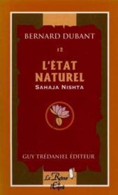 Etat naturel sahaja nishta (l') n.12 - Couverture - Format classique
