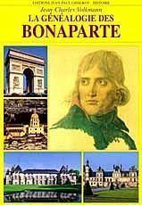 Genealogie Des Bonaparte - Couverture - Format classique