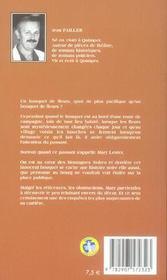 MARY LESTER T.16 ; la bougresse - 4ème de couverture - Format classique