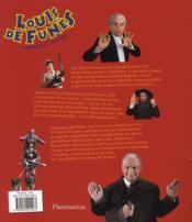 Louis de Funès, l'oscar du cinéma - 4ème de couverture - Format classique
