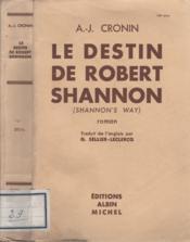 Le destin de Robert Shannon - Couverture - Format classique