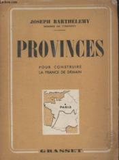 Provinces. - Couverture - Format classique