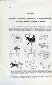 Nouvelles Figurations Sahariennes Et Nilo-Soudanaises De Boeufs Porteurs, Montes Et Atteles - Couverture - Format classique