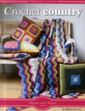 Crochet country ; patchwork crochet - Couverture - Format classique