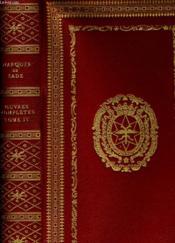 Oeuvres Completes Tome Quatrieme - Couverture - Format classique