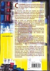 Mathematiques Generales - 4ème de couverture - Format classique