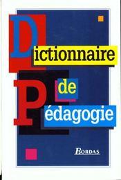 Dict de pedagogie - Intérieur - Format classique