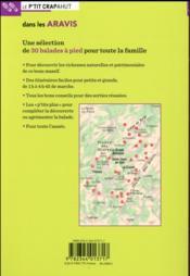 Dans les Aravis ; La Clusaz, Le Grand-Bornand, Thônes, Manigod - 4ème de couverture - Format classique