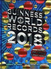 Guinness world records 2018 - Couverture - Format classique