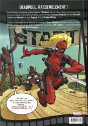 Deadpool corps ; prélude - 4ème de couverture - Format classique