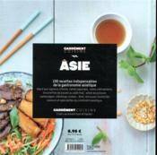 Asie - 4ème de couverture - Format classique