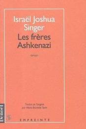 Les freres ashkenazi - Couverture - Format classique