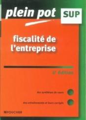 Fiscalite De L'Entreprise - Couverture - Format classique