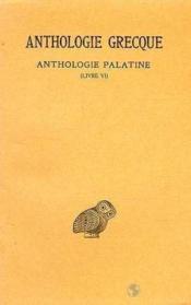 Anthologie grecque t.3 ; L6 - Couverture - Format classique