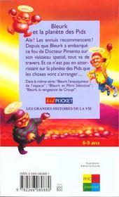 Bleurk Et La Planete Des Pids - 4ème de couverture - Format classique