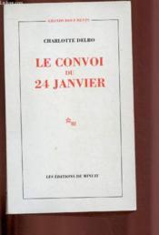 Le convoi du 24 janvier - Couverture - Format classique