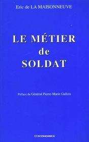 Metier de soldat (le) - Intérieur - Format classique