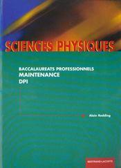 Physique Bac Pro Maintenance D P I - Intérieur - Format classique