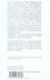 L'épouvantail - 4ème de couverture - Format classique