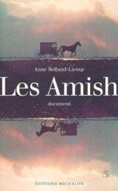 Les amish - Couverture - Format classique