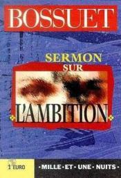 Sermon Sur L'Ambition - Couverture - Format classique